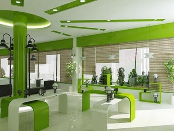 Kính Màu Ốp Showroom - Kính trang trí nội thất